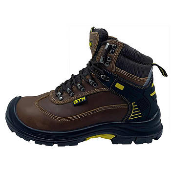 Ботинки рабочие GTM SM-090 Active (40-47) коричневые