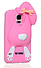 Зайчик Samsung S5 чехол Moschino Розовый