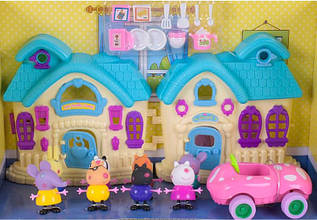 Будиночок Свинка Пеппа з героями Paradise
