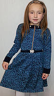 Платье детское с поясом