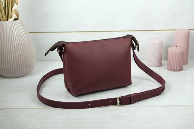 Сумка женская, Кожаная сумочка Лето Кожа, кожа Grand, цвет  Бордо, фото 2