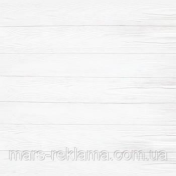 Виниловый фон (фотофон) студийный для предметной съемки. Деревянные доски. Белый