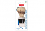 Помазок для бритья с натуральной щетиной и пластиковой ручкой TITANIA art.1700B, фото 4