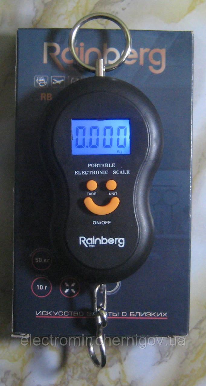 Кантер цифровой сверхточный Rainberg RB-603 (до 50 кг, черный)