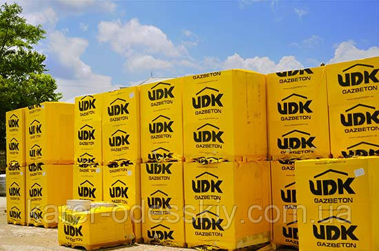 Газоблок UDK - СтройЦентр в Киеве