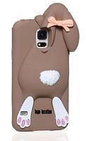 Чехол-Зайчик Samsung S5 чехол Moschino Коричневый