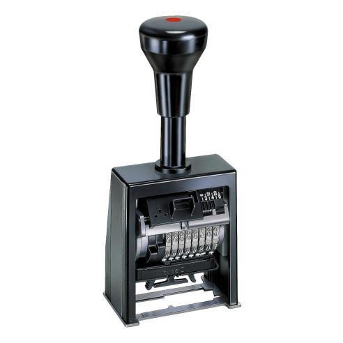 Нумератор автоматический 5,5мм, 8-ми разрядный, шрифт-antique, REINER B6K/8