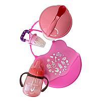 """Набор для кормления """"Standard"""" розовый"""