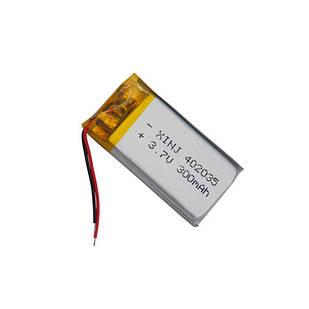 Аккумулятор 402035 Li-pol 3.7В 300мАч для RC моделей GPS MP3 MP4
