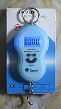 Кантер цифровий електронний Domotec MS-50 (до 50 кг, блакитний)