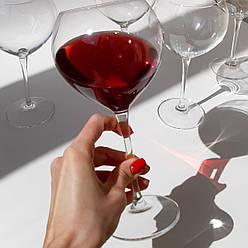 Набор бокалов для красного вина Bohemia Carduelis 640 мл 6 шт