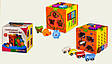 Розвиваюча іграшка Куб-логіка WD607 сортер, шестерінки, лабіринт, фото 2