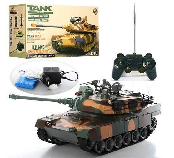 Детские танки на радиоуправлении