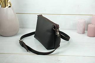 Сумка женская, Кожаная сумочка Лето Кожа, кожа Grand, цвет Шоколад, фото 3