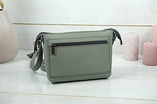 Сумка женская, Кожаная сумочка Лето Кожа, кожа Grand, цвет Серый, фото 2