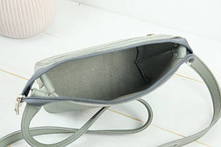 Сумка женская, Кожаная сумочка Лето Кожа, кожа Grand, цвет Серый, фото 3