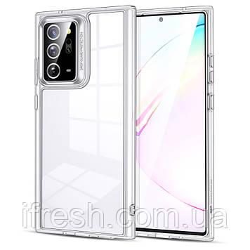Чехол ESR для Samsung Galaxy Note 20 Ultra Classic Hybrid, Clear bumper+Clear back (3C01200430101)