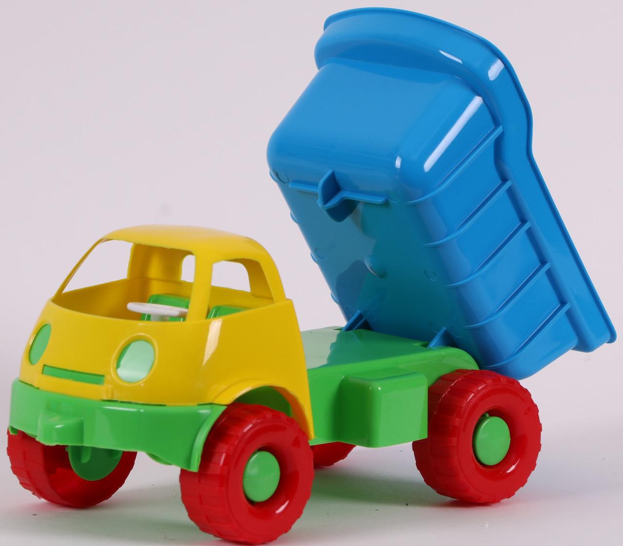 "Іграшка дитяча ""BAMSIC Автомобиль Смайлик "" арт. 3690(Полуциг)"