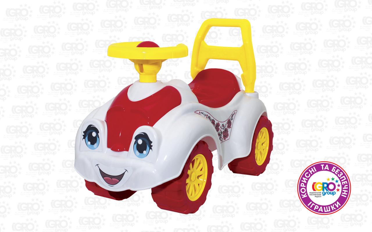 Автомобіль для прогулянок Технок (білий) 3503 (ІФ)