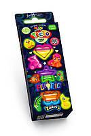 """Креативна творчість """"Тісто для ліплення """"FLUORIC"""" коробка 7 кольорів рос (30)(Пок)"""