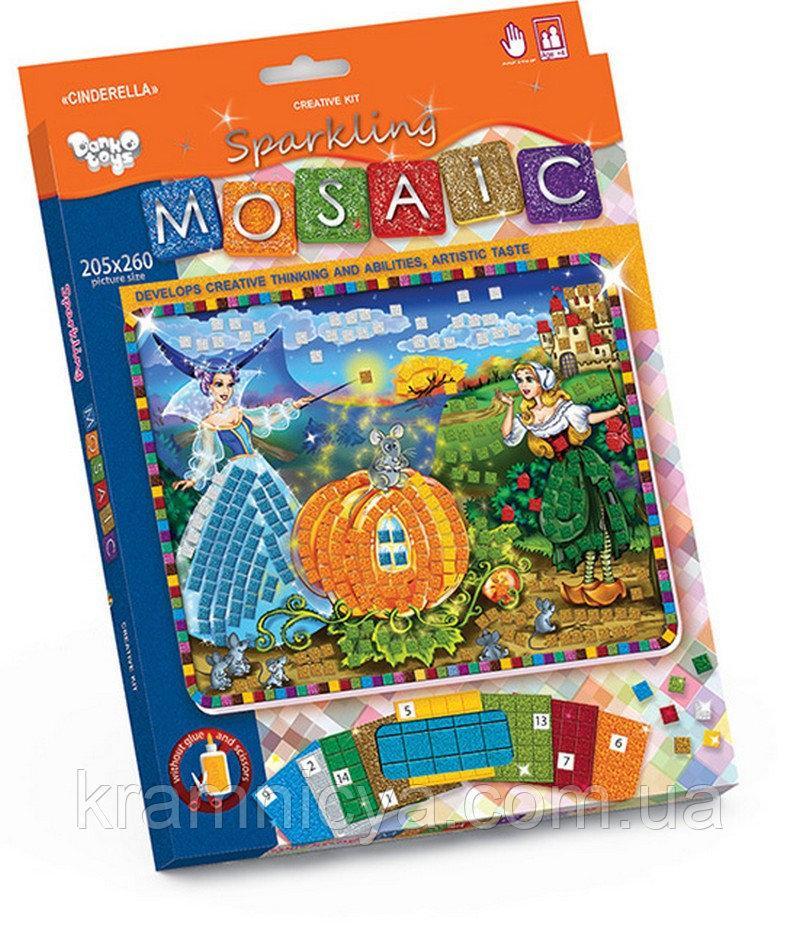 """Креативна творчість """"Блискуча мозаїка """"Glitter Mosaic"""" с.3 (20)(Пок)"""