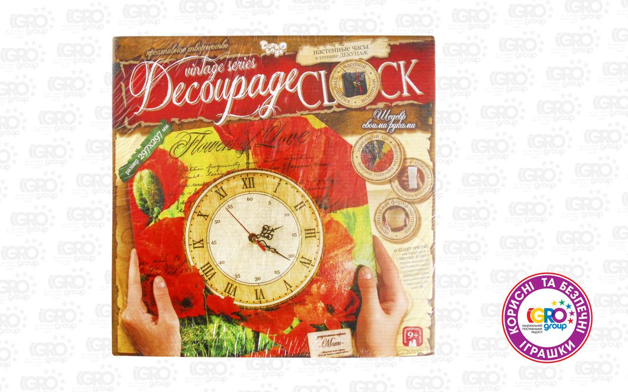 """Набір для творчості """"Decoupage Clock"""" (Пок)"""