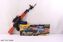 Зброя батар. 758+ (72шт/2) лазерний приціл і звук, в кор.44*17*4см(КИ)
