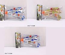 Пістолет JQ6300/1/2 (120шт/2) 3 кольори, в пакеті 26*17см(КИ)