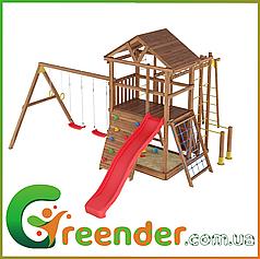 Уличные деревянные детские площадки Leaf 3