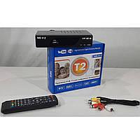 Ресивер Т2 цифрового телевидения приставка Т2 тюнер TV с просмотром IPTV WiFi HDMI USB
