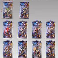 Герої 89005 (144шт/2) 10 видів, на планшетці 31,4*17,4 см(КИ)