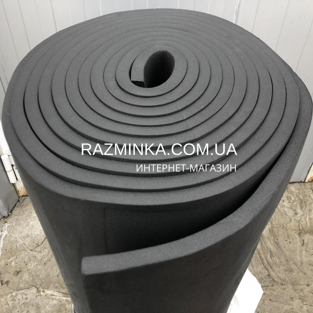 Вспененный каучук листовой 9мм, рулон 20м² (тепло звукоизоляция)