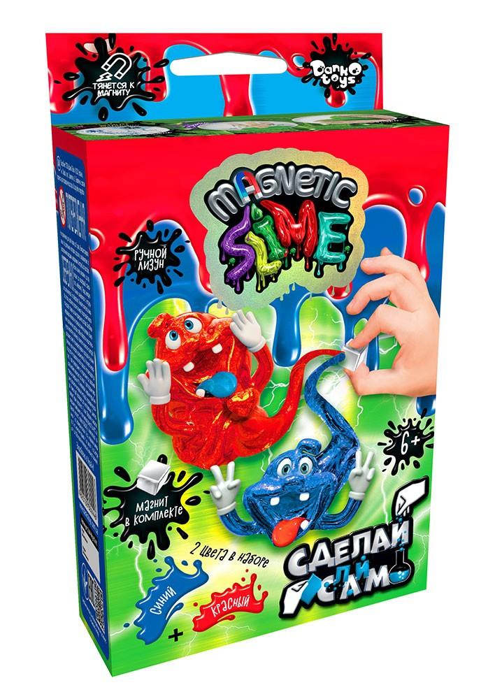 """Безпечна освітня творчість для проведення дослідів """"Crazy Slime Magnetic"""" міні зростав (16)(Пок)"""