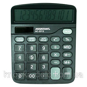 Калькулятор Assistant АС-2312 black