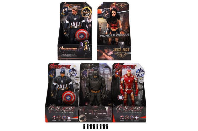 Супергерой (коробка, 5 видів) 3320B/3320C/3326B/3323B/3330 р. 22*10,5*38,5 див.(Мас)