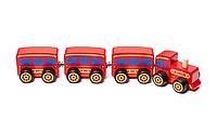 "Дерев'яна яна іграшка-поїзд ""Сubika"""