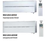 Кондиціонер Mitsubishi Electric PREMIUM INVERTER ZUBADAN (Pearl White) MSZ-LN25VGV-E1/MUZ-LN25VG-E1, фото 2