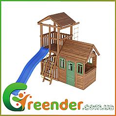Деревянные игровые комплексы для детей Leaf 4