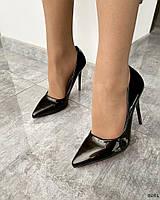 Туфлі з еко-лаку 36 розмір, фото 1