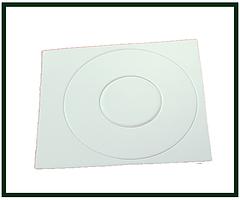 Наклейка защитная для контакты для аккумуляторов 18650