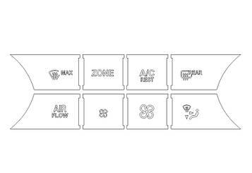 Комплектвыкроек для салона MERCEDES-BENZ GL 2011