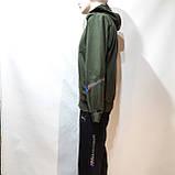 Спортивный костюм мужской Весна-Осень в стиле Puma оливковый, фото 6