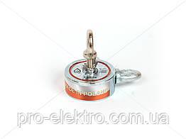 """Поисковый неодимовый магнит двухсторонний """"Onyx-magnet"""" F 120x2 (сила 200 кг) N52"""