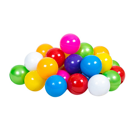 "Набір дитячий ""Кульки"" арт 0270, діам 9 см, сітка 50 шт(Полуцыг)"