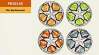 Мяч футбольный FB20145 (30шт) № 5, TPU, 330 грамм, MIX 4 цвета(КИ)
