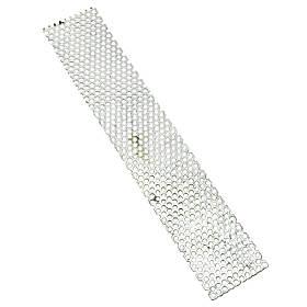 Сито для зернодробилки, крупорушки диаметр 4 мм (320х60 мм)