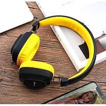 Бездротові Bluetooth-навушники гарнітура накладні Awei A760BL Black/Yellow, фото 3