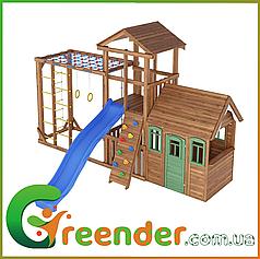 Детская игровая площадка, песочница, качели Leaf 6