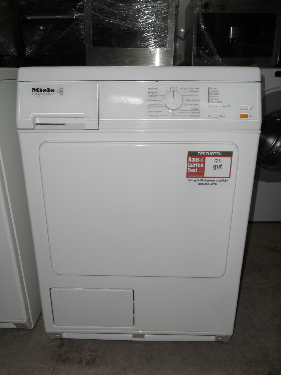 Сушильна машина Miele Softtronic T 4263c