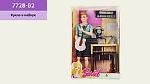 """Лялька """"Б"""" 7728-B2 (24шт/2)з аксесуарами, в коробці 22*7*33 см, р-р ляльки – 29 см(КИ)"""